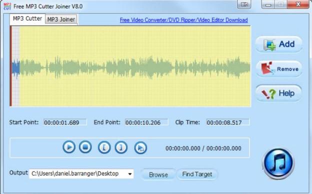 Hướng dẫn cắt ghép nhạc với Mp3 Cutter Joiner