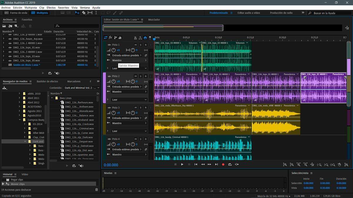 Hướng dẫn thu âm với Adobe Audition